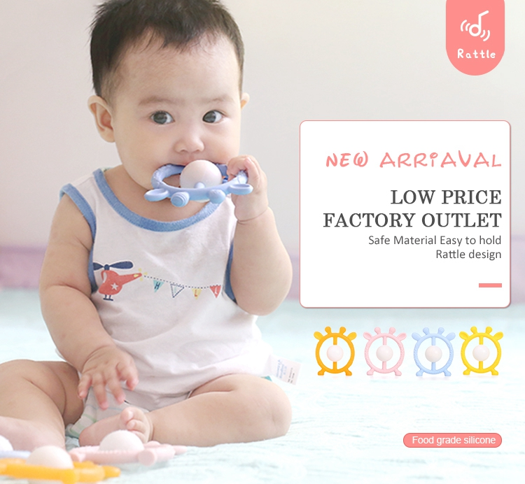 silicone teether feeder