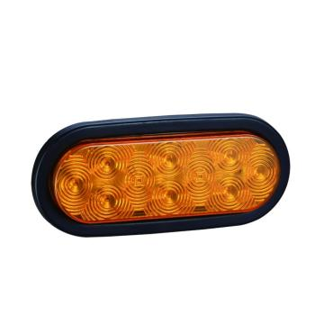 "Best Price for Led Trailer Rear Lamps 6""Oval Amber LED Truck Trailer Indicator Turn Lights export to Belgium Supplier"