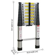 Hot sale Factory for Double Side Telescopic Ladder Telescopic ladder 3.2m step  aluminum ladder supply to United States Factories