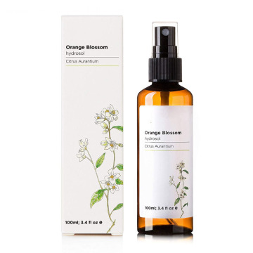 Orange blosson neroli hydrosol water for facial toner