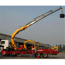SQ8ZK3Q Truck mounted Crane with Foldable Arm