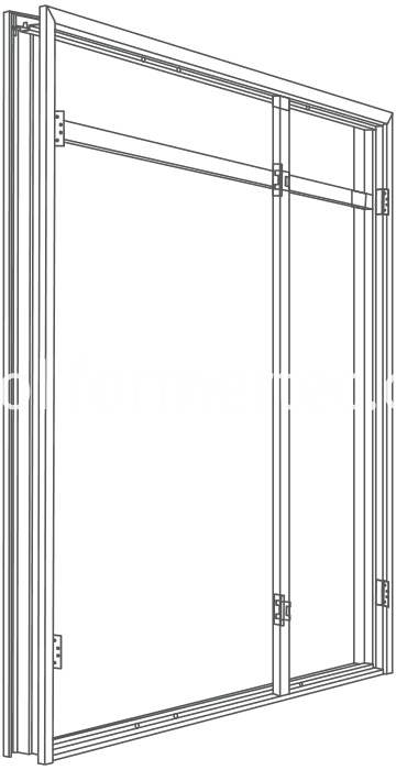 steel-framing-steel-door-frame-wardrobe