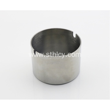 Stainless Steel Fashionable Personality Ashtray With Lid