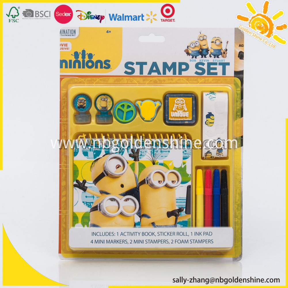 Stamp Activity Set 5