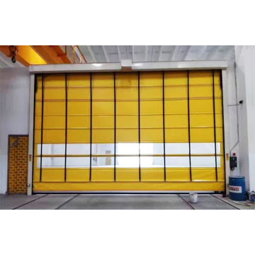 PVC Curtain Automatic Stacking High Speed Door