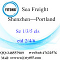 Shenzhen Port LCL Consolidation To Portland