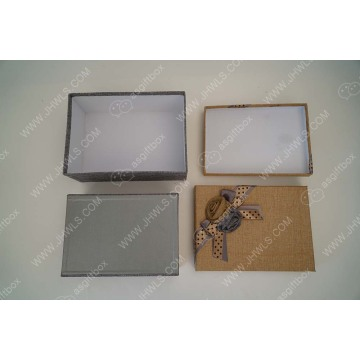 High end paper shoe packing box sets