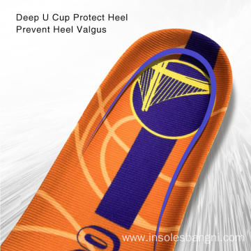PU Sport Arch Support Soft Shoe Pad insoles