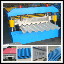 Best Price on for Glazed Tile Roll Forming Machine, Double Layer Roll Forming Machine Exporters Color Corrugated Roof Sheet Making Machine export to Lao People's Democratic Republic Manufacturers