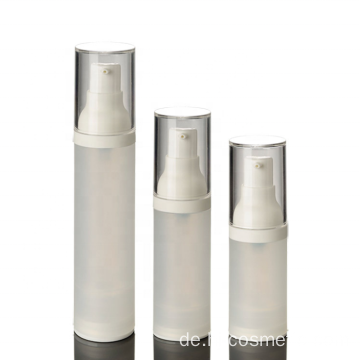 Wholesale high-grade Korean clear PP vacuum cosmetic cream bottles with good price