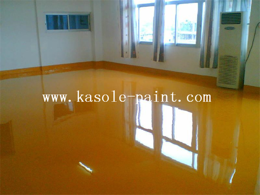 Yellow Anti-static Epoxy Topcoat
