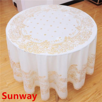 Round tablecloth Wipe Clean