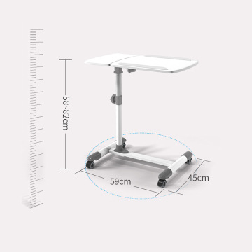 Movable Overbed Nurse Table