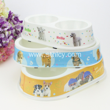 Cartoon Dog Pet Bowl Cat Bowl