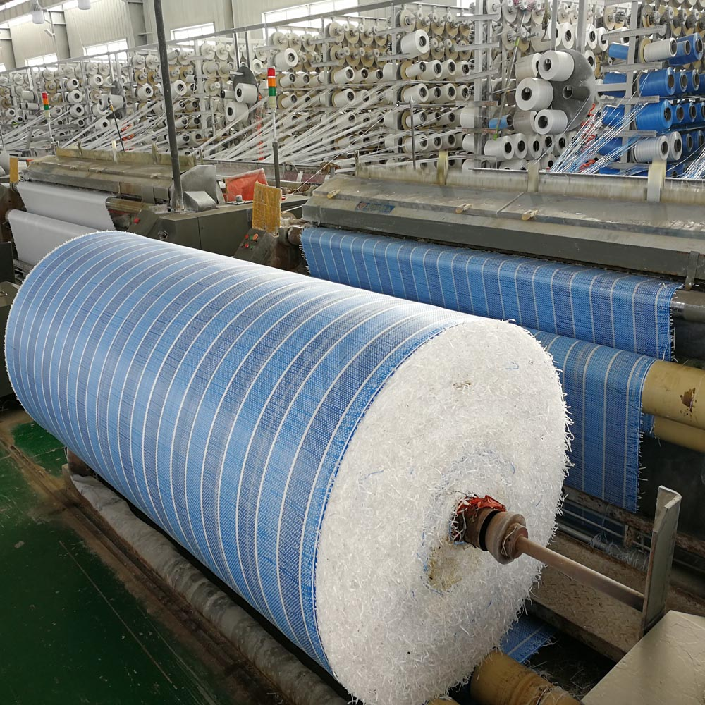 Various Color Stripe Tarpaulin Roll Factory