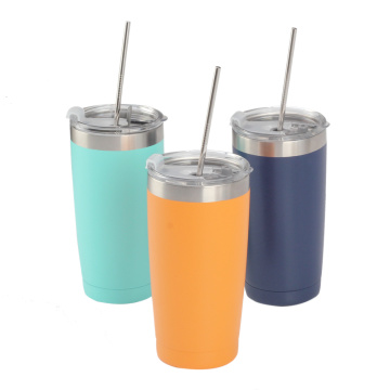 Outdoor Tumbler 20 oz Vacuum Insulated with Lids