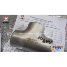 Best Price for Inconel Pipe Fitting Butt Weld Fitting, ASTM B366 Inconel 625 Tee, ANSI B16.9 , Penetrant Inspection supply to East Timor Exporter