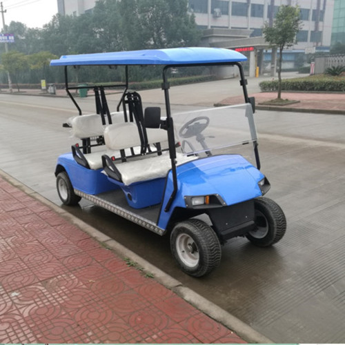 high quality 4 seater small resort golf cart