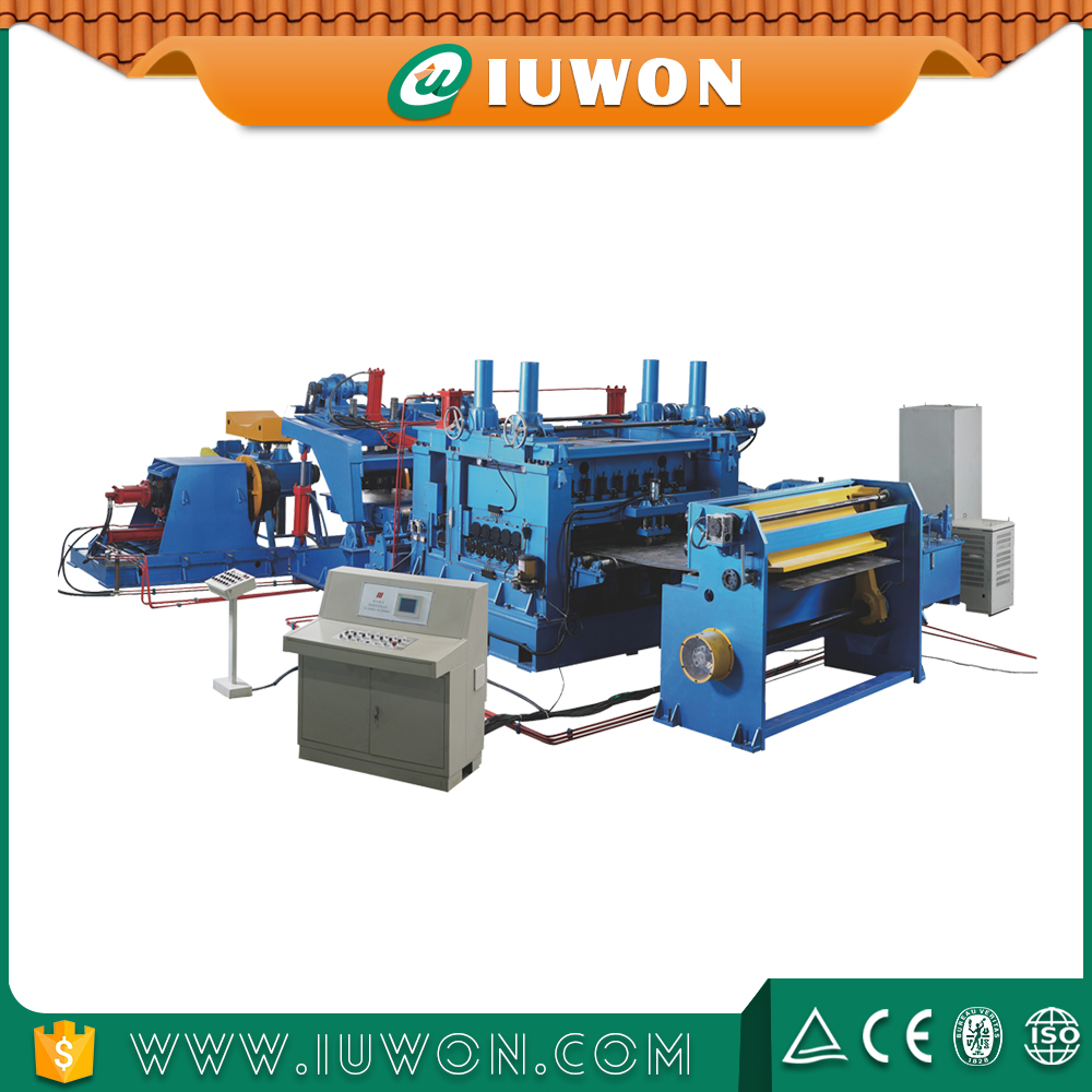 Leveling Production Line Cutting Length Line