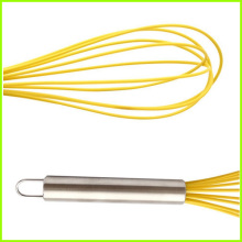 New Fashion Design for Kitchen Whisk Non-stick Heat Resistant Silicone Egg Beater supply to Sweden Factory
