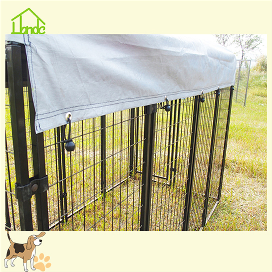 Low prices wire welded metal dog kennel