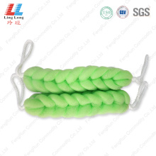Customed elastic sponge wholesale bath belt