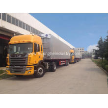 New Delivery for Open Wings Van Truck Wings Open Cargo Truck (Two-axis) supply to Cocos (Keeling) Islands Factory