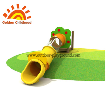 Outdoor wooden playground equipment for garden