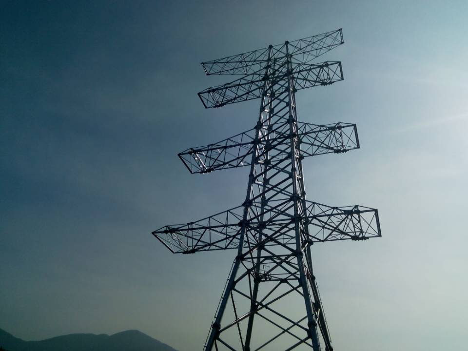 220kV Steel Tubular Tower