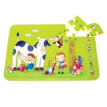 eco-friendly custom foam puzzle toys 3d jigsaw puzzle