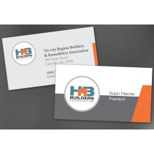 Advertising Business Card Magnet Sticker