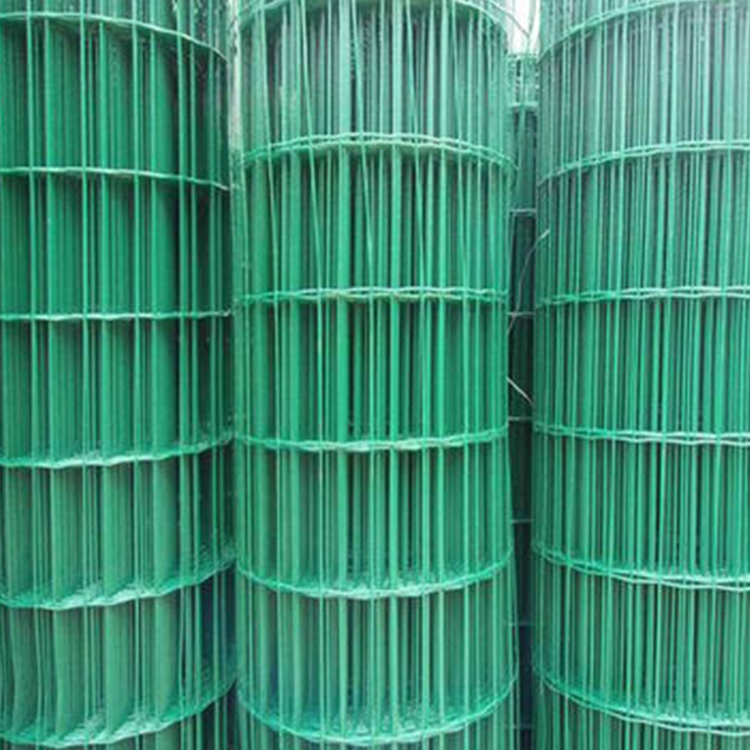 50*100mm PVC Dutch Wave Welded Wire Mesh Fence