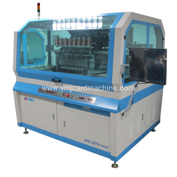 Smart Card Wire Embedding and Bonding Machine