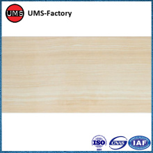 Thin layer ceramic wood effect tile