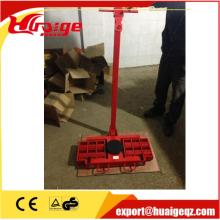 cargo transport trolley moving rollers