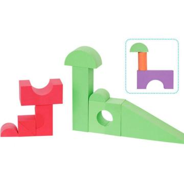 Colorful EVA foam learning toy bricks blocks