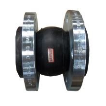Single Sphere EPDM expansion rubber joint with flange