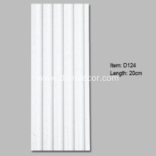 Special for Door And Window Panels Large Polyurethane Fluted Pilaster Column supply to Indonesia Importers