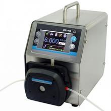 High precision speed adjustable low cost peristaltic pump