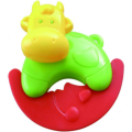 Safe Infant Musical Ring Toy Cow Shape Rattle