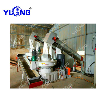 132KW Peanut Shell Pellet Machine