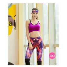ladies colorful leggings sublimation running tights