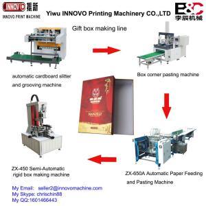 Automatic box making line