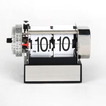Small clock flip alarm clock for decoration