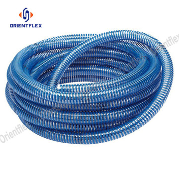 High pressure pvc spiral suction hose pipe