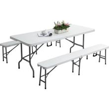 high class 6 ft outdoor folding table