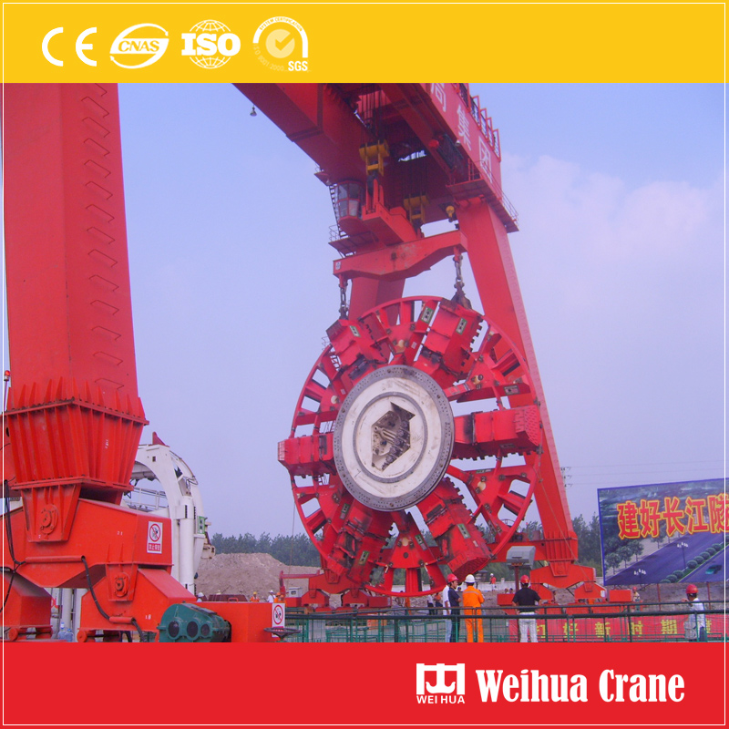 Tunnel Shield Gantry Crane