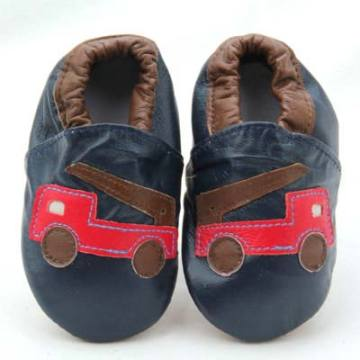 Genuine Leather Baby Shoes Safe Crib Toddler shoes