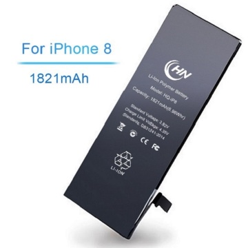 Lithium polymer iphone 8 batterie pack
