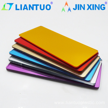 3mm Plastic Acrylic PMMA Mirror Color Sheets